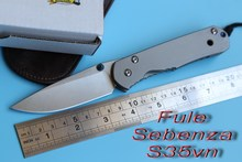 Fule kevin small large sebenza folding knife s35vn Titanium camping hunting outdoor survive travel kitchen knife EDC OEM tools