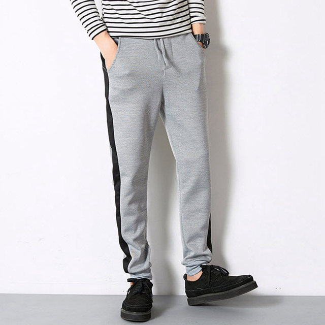 TROUSERS - Casual trousers _M Gray 7D7EPa3