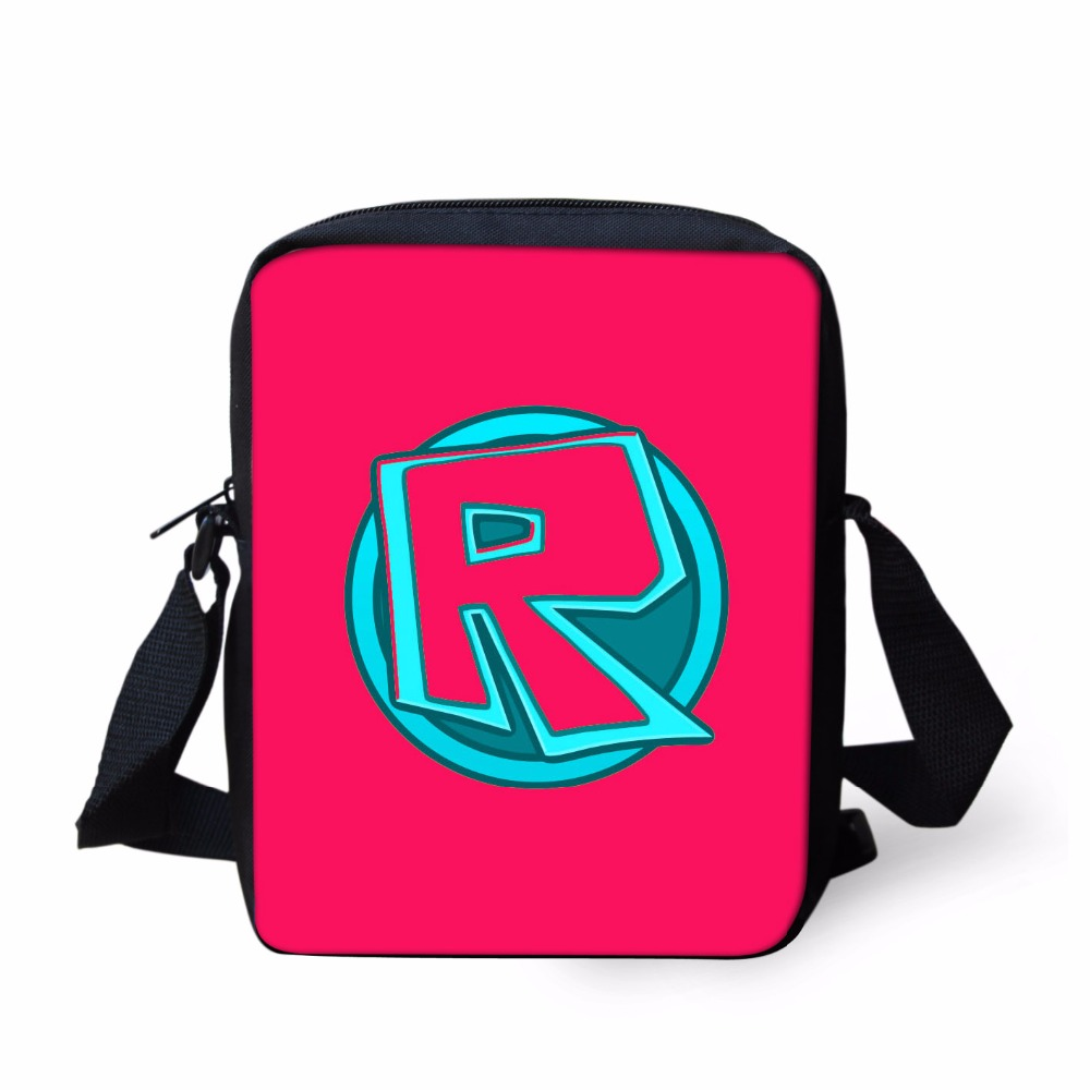 Cartoon Characters Roblox Games Messenger Bag 3D Children Boys Girls Cross  Bags Kids Book School Bags Shoulder Bag rugzak-in Crossbody Bags from  Luggage ... ec8ff71d9cb4e