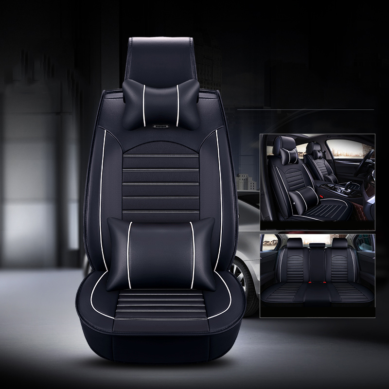 Marvelous Us 85 0 50 Off New Pu Leather Car Seat Cover For Jeep Wrangler 2014 2015 2013 2012 Car Seat Cushion Front Back Seat Protector In Automobiles Machost Co Dining Chair Design Ideas Machostcouk
