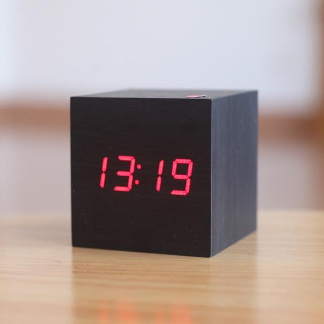 Gentil Modern Bedside Alarm Desk Clock Luminous Digital Watch Board,living Room  LED Table Clocks Mini