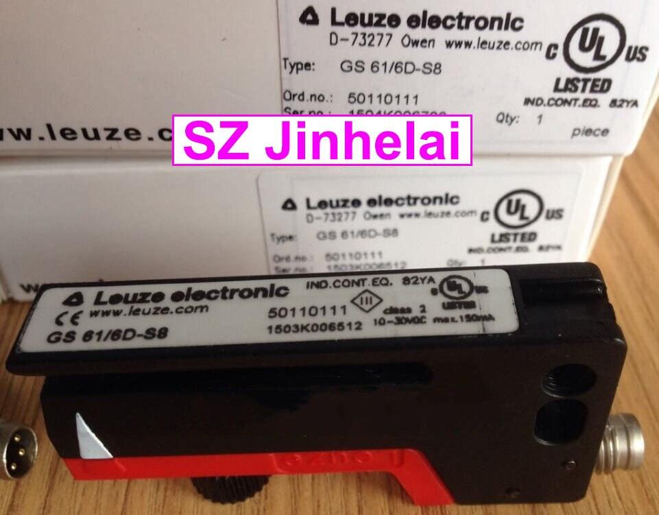 GS 61/6D-S8 nouveau et original allemagne LEUZE interrupteur photoélectrique capteur à auge