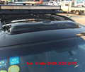 Teto solar escudos defletores de chuva tempo gruard shdows Acrílico para Para TOYOTA 3400 Prado CL90 CL95