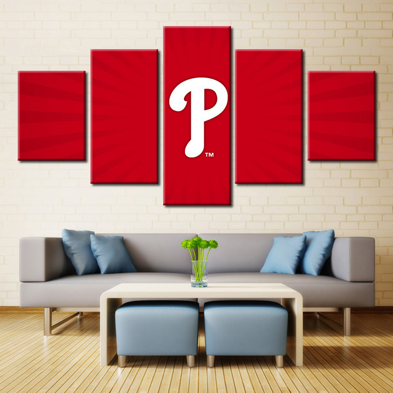 Aliexpress Buy Baseball Modular High Quality Pictures Oil Painting Canvas Wall Art For Living Room Decor Customize Your Prints From Reliable