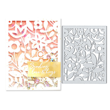 Julyarts Metal Cutting Dies Flower Frame Knife Mould Fustelle Steel Scrapbooking Paper Cards
