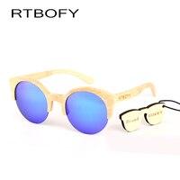 RTBOFY Wood Sunglasses WoMen Wooden Sunglasses Brand Designer Original Wood Sun Glasses Oculos De Sol Masculino