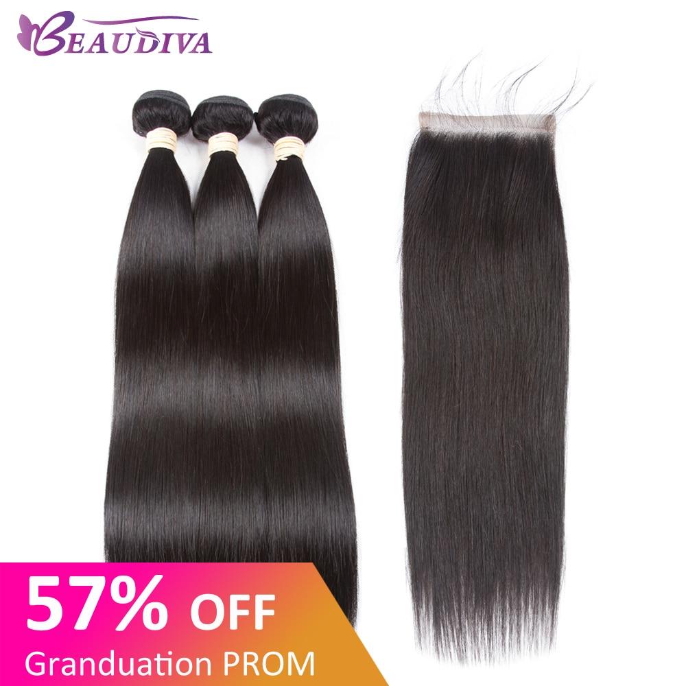 beaudiva-hair-extension-100-human-hair-bundles-with-closure-brazilian-hair-weave-3-bundles-straight-bundles-with-lace-closure