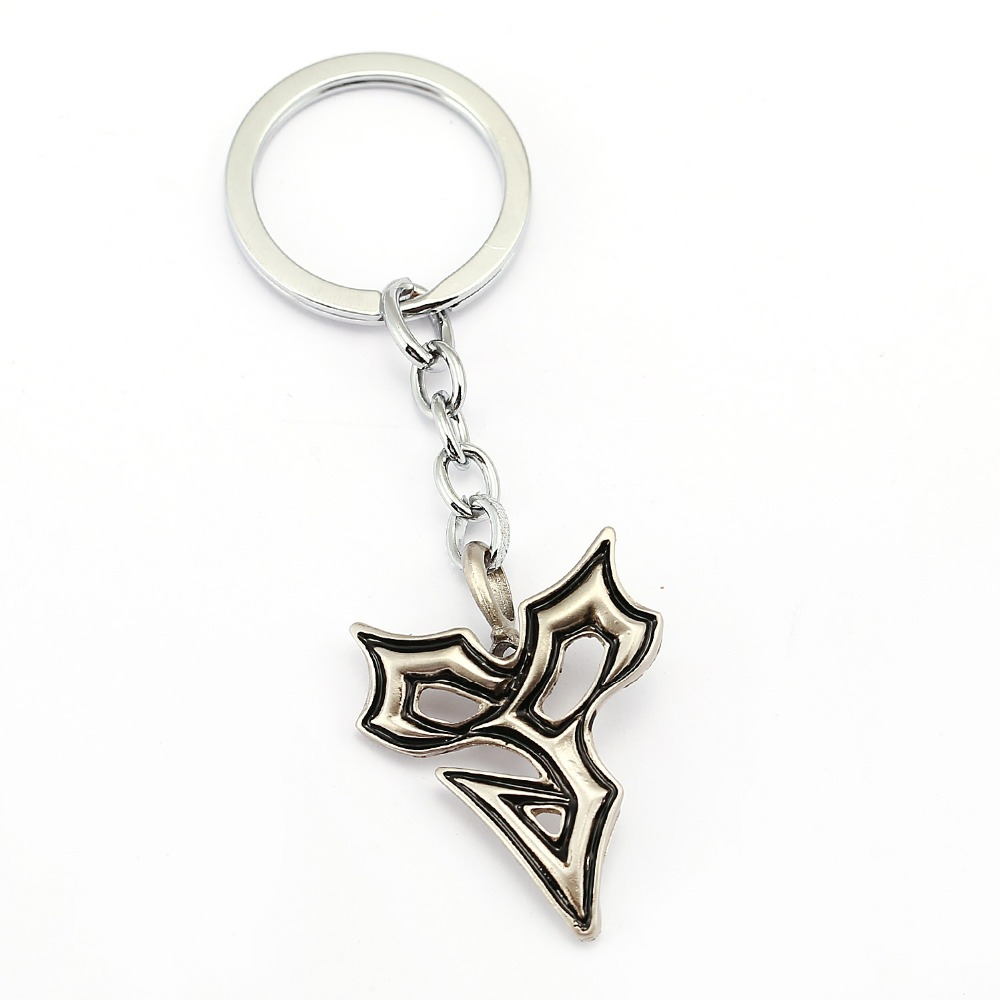 MS Jewelry Game Final Fantasy Keychain Car Charm Key Chain Cool Men Key Ring Holder Chaveiro Pendant Souvenir