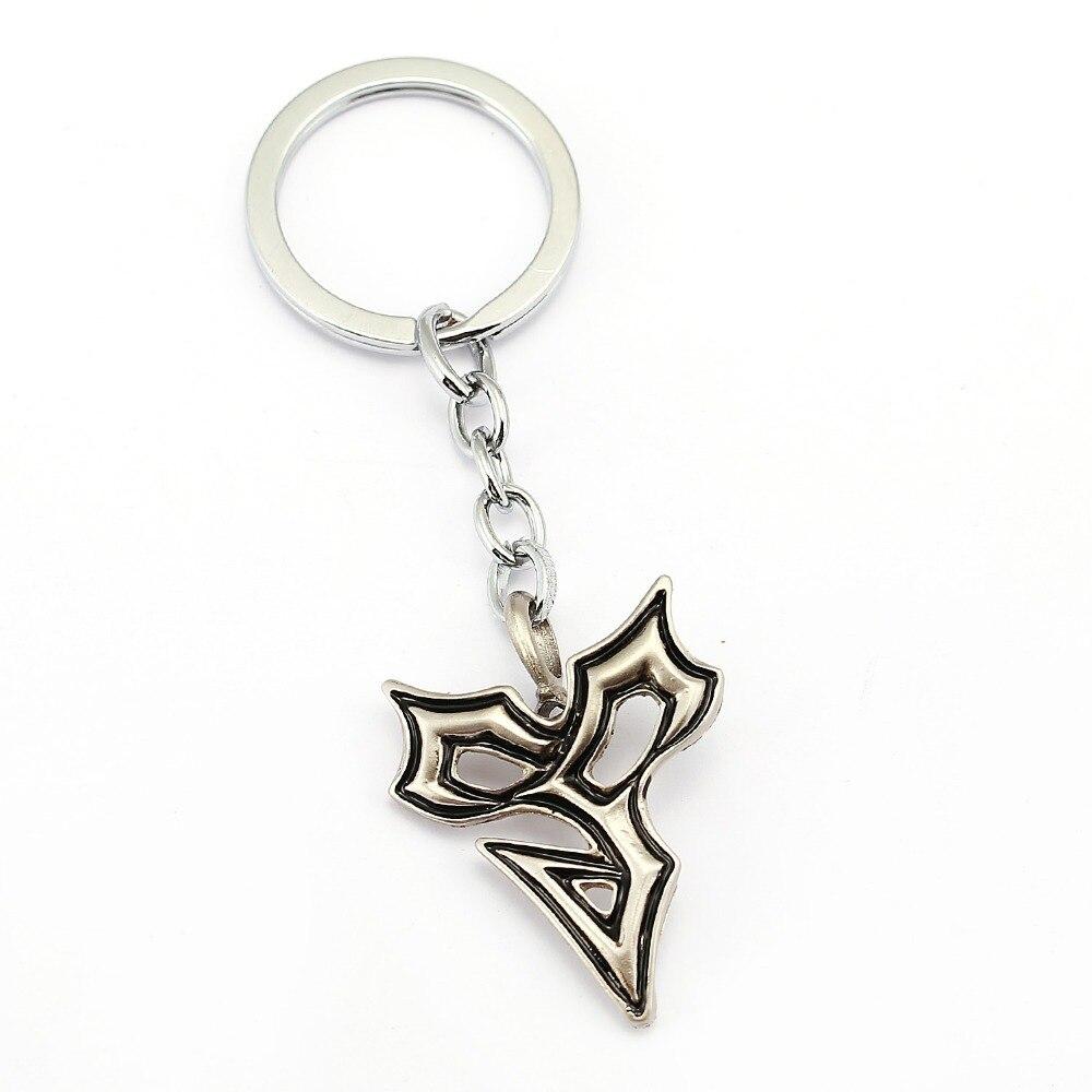 MS Jewelry Game Final Fantasy Keychain Car Charm Key Chain Cool Men Key Ring Holder Chaveiro Pendant Souvenir