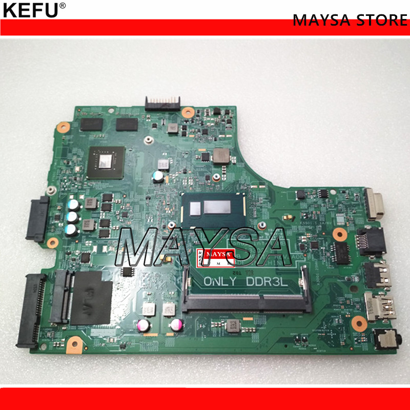Laptop motherboard Fit For DELL 3446 3546 PC Mainboard CPU 2957U 0TFM8R 13302-1 full tesed DDR3