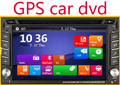 Capacitive Car DVD GPS Navigation 2din Car Stereo Radio Car GPS Bluetooth USB/SD Universal Player