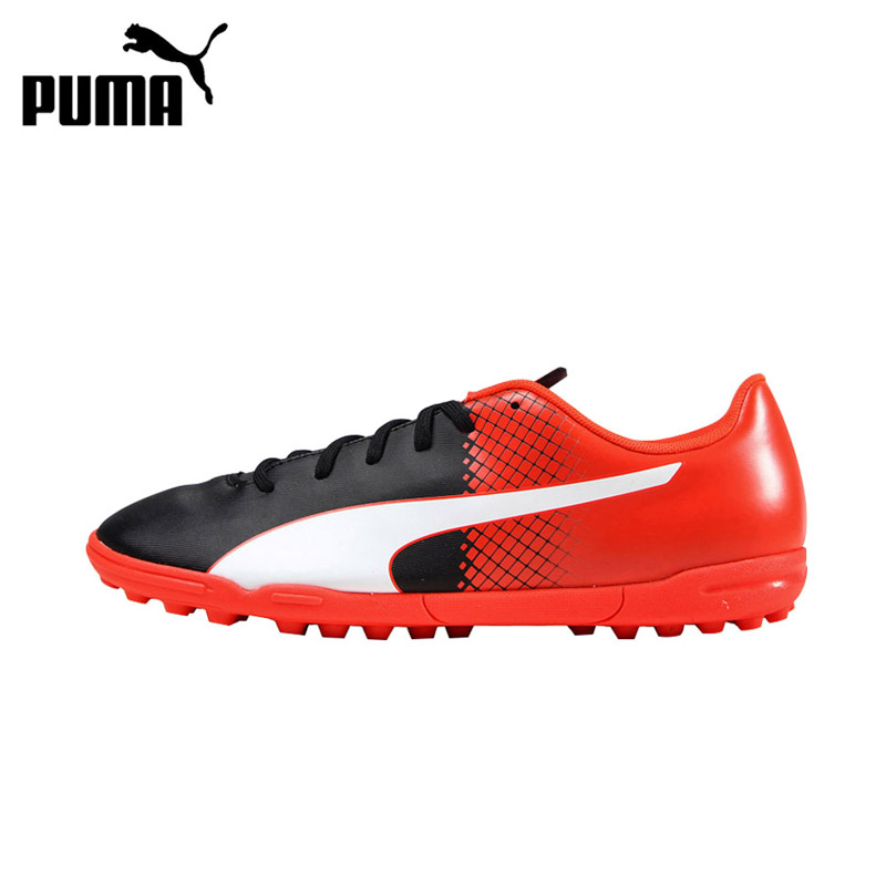 Original New Arrival PUMA EvoSpeed Men's Soccer Waterproof Shoes Football Sneakers tiebao a13135 men tf soccer shoes outdoor lawn unisex soccer boots turf training football boots lace up football shoes
