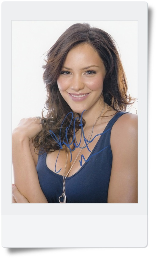 signed Katharine McPhee  autographed photo 7 inches  freeshipping  072017 03 got7 got 7 jb autographed signed photo flight log arrival 6 inches new korean freeshipping 03 2017