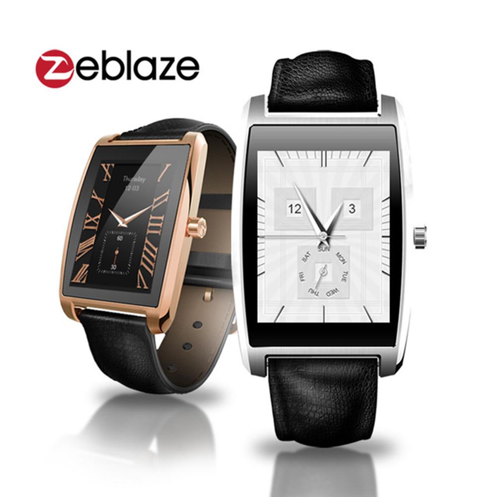 Prix pour Zeblaze COSMO Bluetooth 4.0 Smart Watch MTK2502C Réel Coeur Taux 1.61 pouce IPS 256 * 320px 3D HD Écran Fitness Tracker Étanche