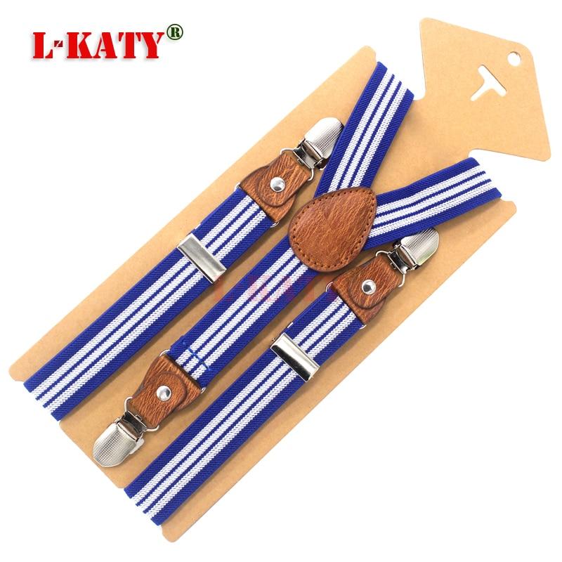 Children Suspenders Fashion Kids Braces Strong 3Clips Boy Suspenders Trousers Suspensorio Elastic Strap size 2.5*65cm 12 colors