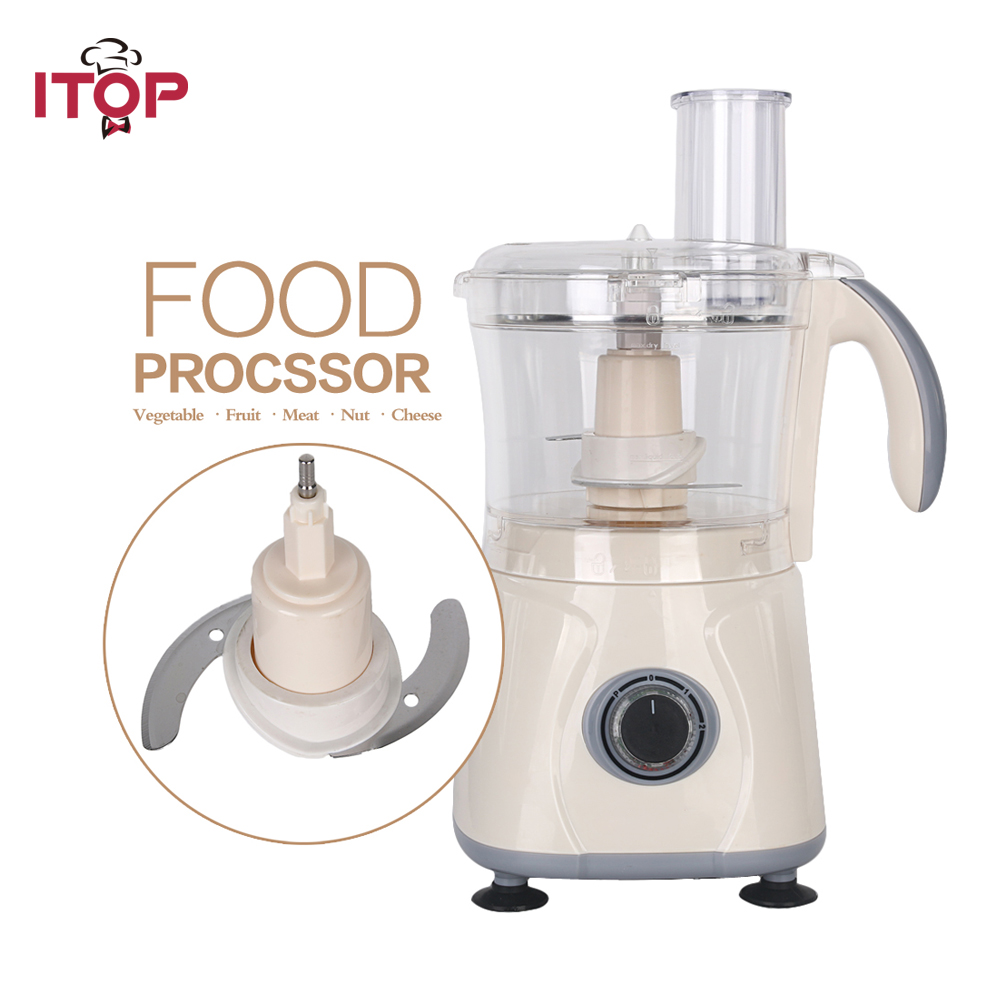 Itop New Commercial powerful Blender Fruit Vegetable smoothies Food Mixer Stainless Steel Blade Food Processors new automatic stainless steel commercial vegetable