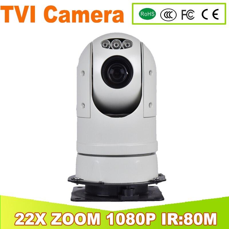 Yunsye полиции вибростойких мобильный ИК 22x зум Автомобильный PTZ CCD Effio автомобиля высокоскоростной камеры ptz TVI камера TVI PTZ