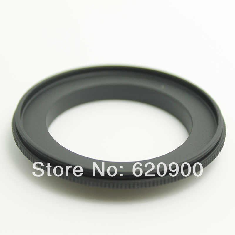 100% รับประกัน AI อลูมิเนียม 49mm เลนส์ Macro Reverse Adapter สำหรับ Nikon AI AF DSLR D5100 D3100 D7000