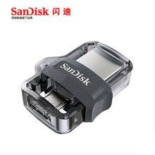 Sandisk – clé USB 3.0 SDDD3, support à mémoire de 16GB 64GB 32GB 150 GB, extrême haute vitesse 128 M/S, lecteur Flash double OTG, Original