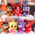 Five Nights At Freddy's 4 FNAF Freddy Fazbear Bear Doll Plush Toys 10""