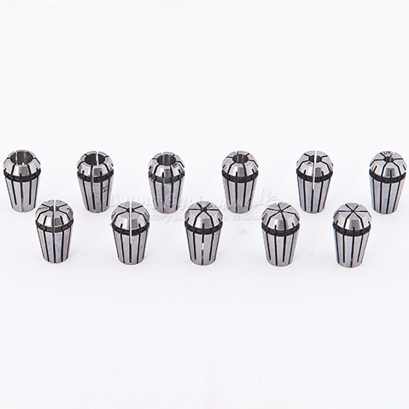 7 Pcs/lot ER11 Collect Chuck A-type CNC Engraving Machine Spindle Spring Chuck For  Router Milling Machine