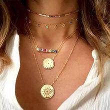 2020 высокое качество радужные ожерелья женские подвески cz