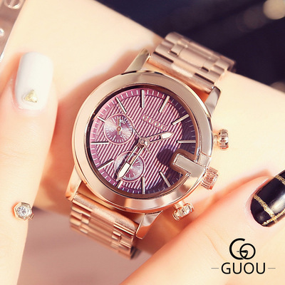 Reloj mujer2018 Hot Sale High quality Fashion Lady Quartz watches Rose Gold Full Steel Ladies Dress watch Holiday Gift Zegarki hot sale fashion stainless steel rose gold