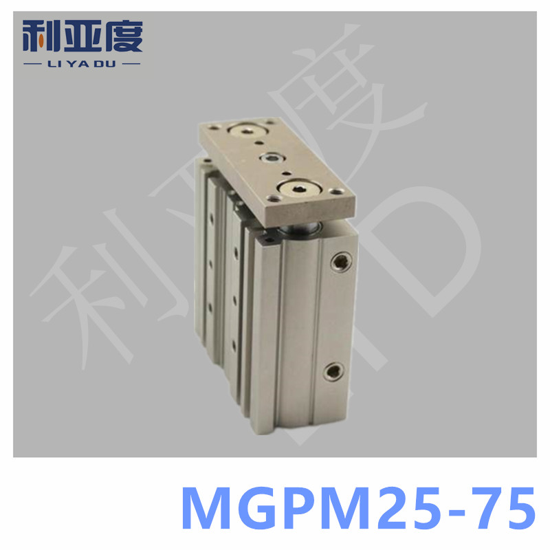 SMC Type MGPM25-75 Thin cylinder with rod MGPM 25-75 Three axis three bar MGPM25*75 Pneumatic components MGPM25X75SMC Type MGPM25-75 Thin cylinder with rod MGPM 25-75 Three axis three bar MGPM25*75 Pneumatic components MGPM25X75