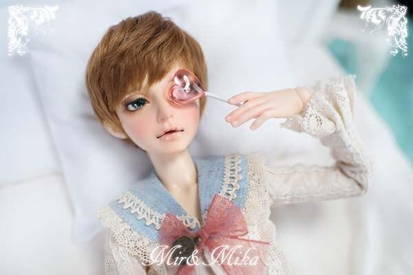 ФОТО Bjd Doll 1/4 resin figures Fairyland minifee mika FL soom lati doll