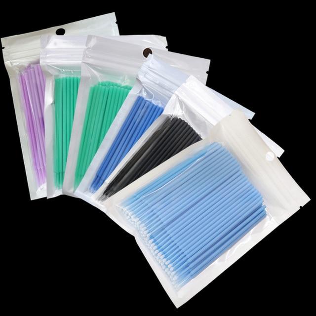 Microbrushes Makeup Brushes Swab Disposable 2