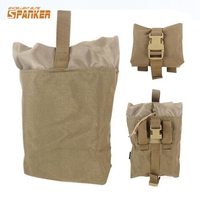 Militaire Tactische Opvouwbare Mag Recovery Molle Pouch Munitie Tas Magazine Pouch Molle Tas