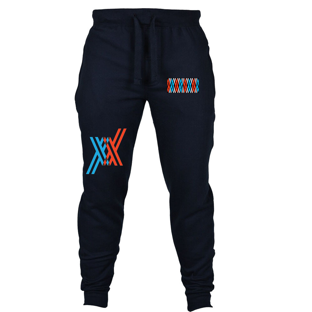 Anime DARLING In The FRANXX Pants Jogging Casual Men Women Sweatpants Cosplay Clothing Long Sport Pants