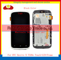 Best Quality Original For HTC Desire X T328e Lcd Display Touch Screen Digitizer Assembly Complete +Frame Black