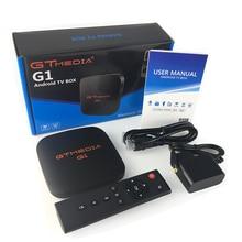 Original  GTMEDIA G1  S905W Android 7.1 tv box media player 1GB RAM 8GB ROM set top box 4Kx2K HD 2.4G Wifi smart tv box hot sell