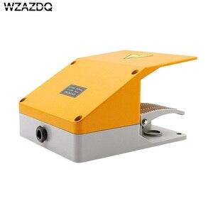 Image 5 - WZAZDQ Ayak anahtarı YDT1 15 alüminyum kabuk gri çift pedal anahtarı makinesi aracı aksesuarları anahtarı