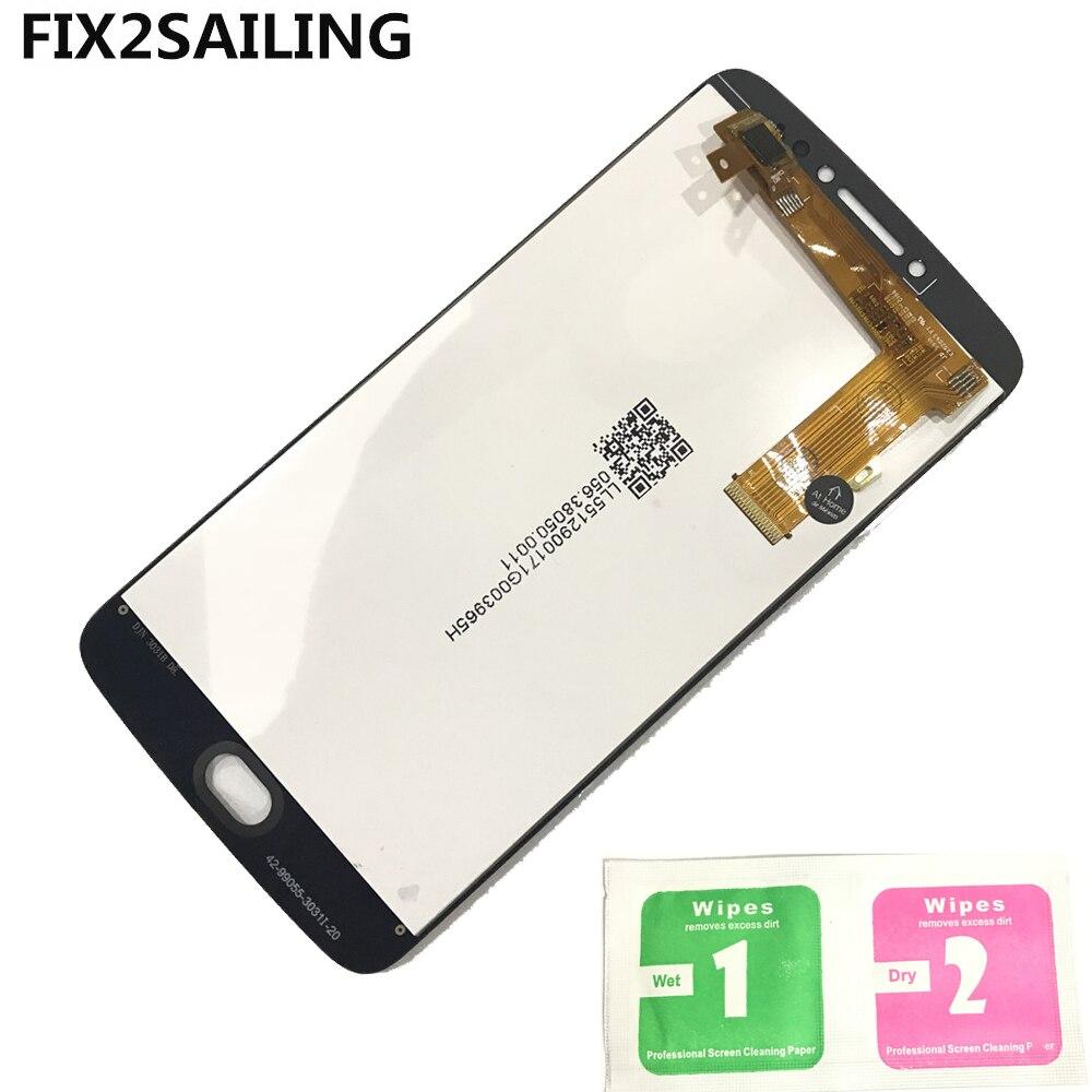 Pour Motorola Moto E4 Plus XT1770 XT1773 XT1771 XT1772 100% de Travail LCD Affichage à L'écran Tactile Digitizer Assemblée Remplacement