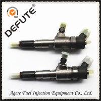 Common-rail-injektor 0445110511 eingebaute F00VC01365 ventil montage