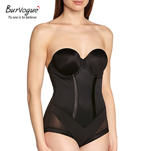 Image 3 - Burvogue Shapewear Body Sexy Lencería modelador de cuerpo sin costuras, adelgazante vientre cintura Control Shaper ropa interior para mujeres