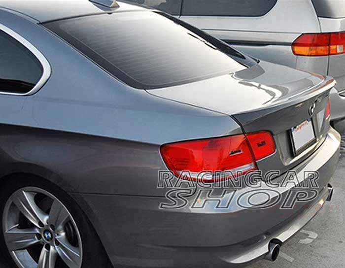 UNPAINTED CSL STYLE ADD ON TRUNK Lip SPOILER FOR BMW E92 3 SERIES 2D Coupe