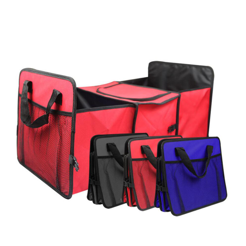 Car Organizer Trunk Collapsible Toys Food Storage Truck Cargo Container Car Stowing Tidying Auto Rear Storage Box Car Accessorie in Stowing Tidying from Automobiles Motorcycles