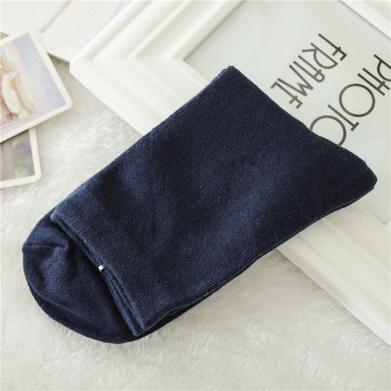 Men Autumn Winter Business Cotton Socks Male Gray Casual Short Socks 5pairs/lot