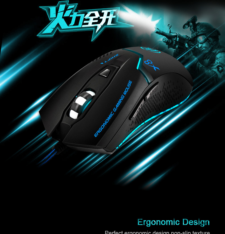 Imice Wired Gaming mouse Professional Gaming Mouse Imice Wired Gaming mouse Professional Gaming Mouse HTB1S22JQFXXXXcDaXXXq6xXFXXXw