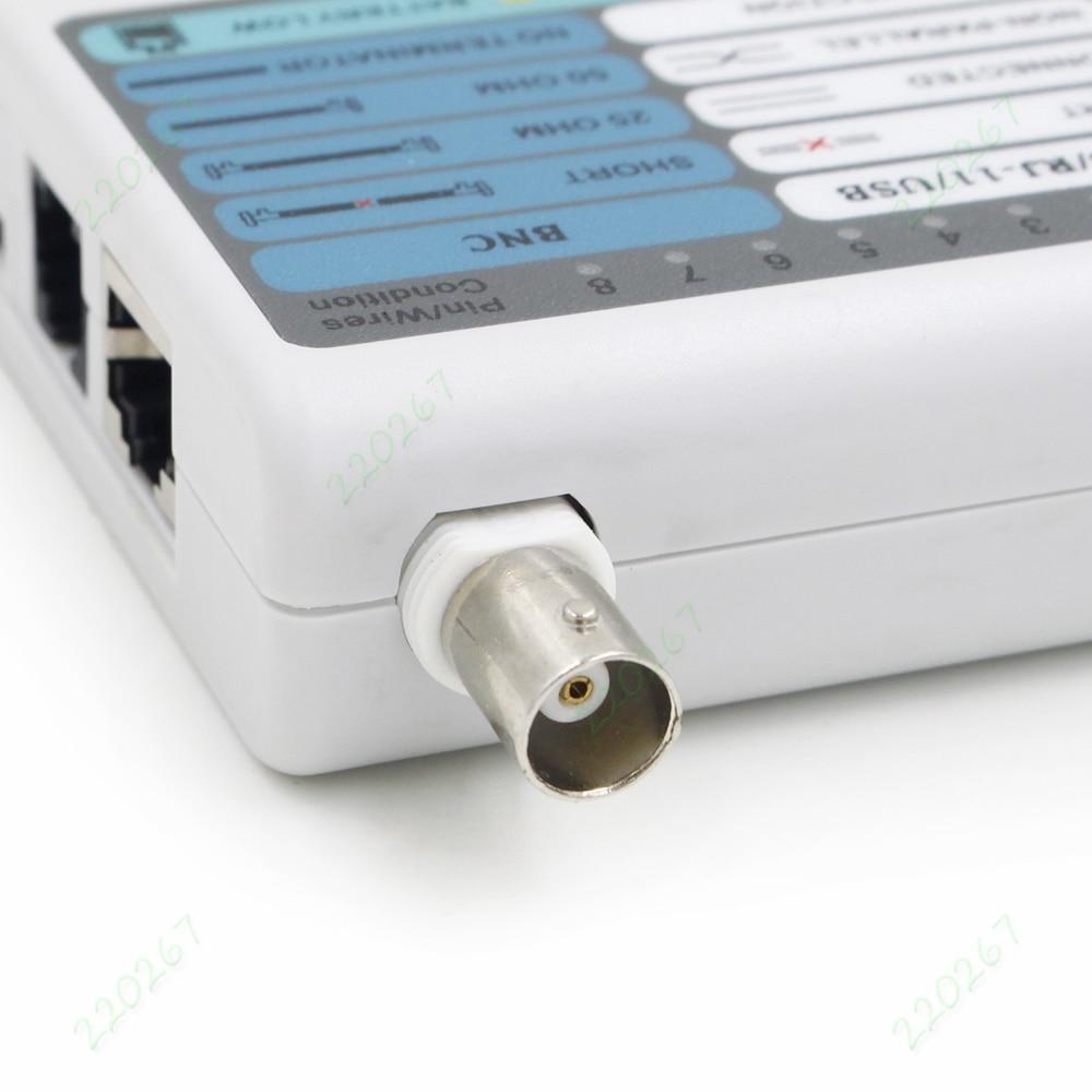 4 in 1 RJ45/RJ11/USB/BNC Telefon Netzwerk Lan kabel Detektor Cat5 ...