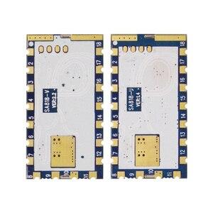 Image 3 - 2 Stks/partij Nieuwe Generatie Walkie Talkie Module SA818 Met Uhf 400 ~ 480 Mhz/Vhf 134 ~ 174 mhz Audio Module RDA1846S Chip