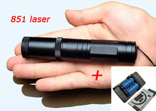 Best Buy Laser 851 lamp High power laser pen, 405nm pen 5000 meters flashlight laser pointer+16340 battery*2+charger