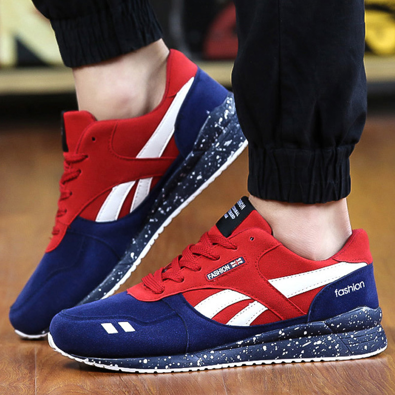 Casual Men Shoes Luxury Brand Mesh Breathable Lace Up Sport Flat Suede Leather Mens Trainers Superstar Basket Zapatillas