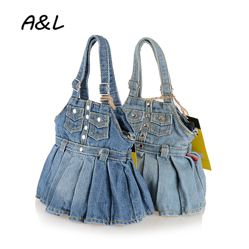 Newest Women Shoulder Bags Denim Handbag Fashion Small Jeans Cloth Handbags Women Messen ...