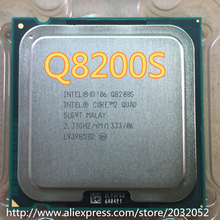 Lntel Core 2 Quad Q8200S q8200s CPU/Gniazdo 775/2. 33 GHz/FSB 1333 MHz/45nm/65 W/Quad-Core Processor (pracy 100% Free Shipping)(China)
