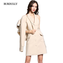 Autumn New Women Long Sleeve Short Slim Blazer Female Suit Jacket Styles Splicing Blaser Femenino 2016 Jaqueta Large Size Khaki