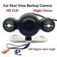 [Alta Calidad] 120 Grados Inversa cámara CCD de Visión Nocturna Impermeable Opinión Posterior Del Coche Cámara de Reserva